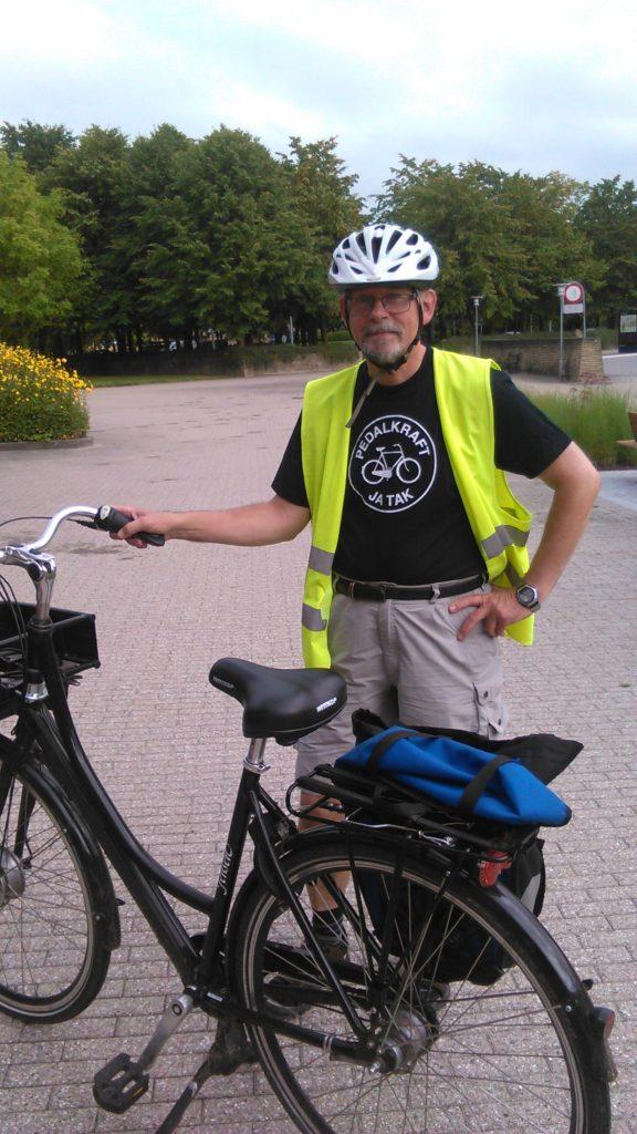 Benny Brostrup Andersen har erfaringer med at teste elcykel. Han vil på generalforsamlingen fortælle om sine erfaringer.