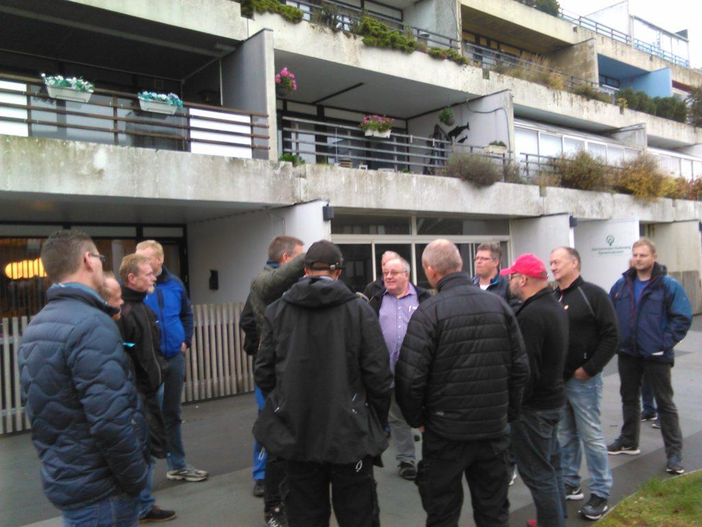 Her mødes kollegaerne i Gadevang.